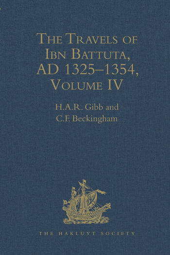 The Travels of Ibn Battuta, AD 1325–1354 Volumes I - V book cover
