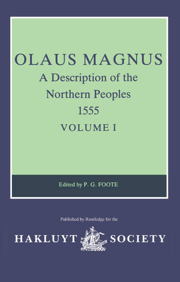 Olaus Magnus, A Description of the Northern Peoples, 1555 Volume II book cover