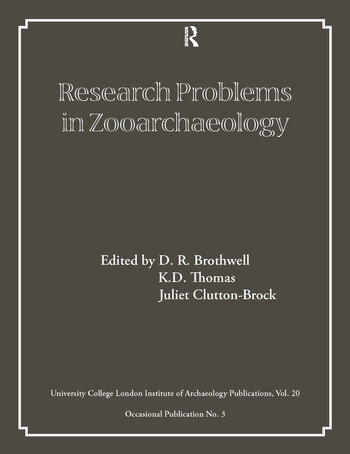 Research Problems in Zooarchaeology book cover