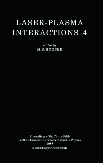 Laser-Plasma Interactions 4 book cover