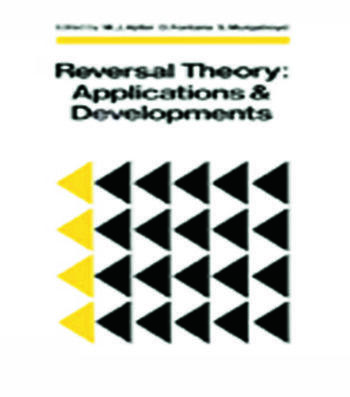 Reversal Theory Applications and Development book cover