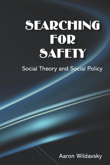 Searching for Safety book cover