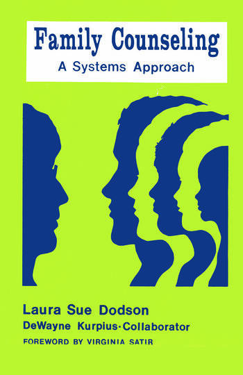 Family Counseling A Systems Approach book cover