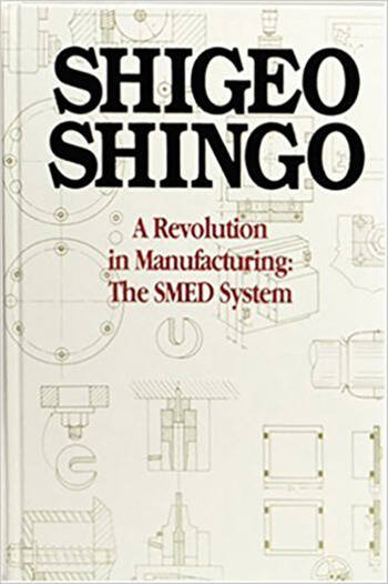 A Revolution in Manufacturing The SMED System book cover