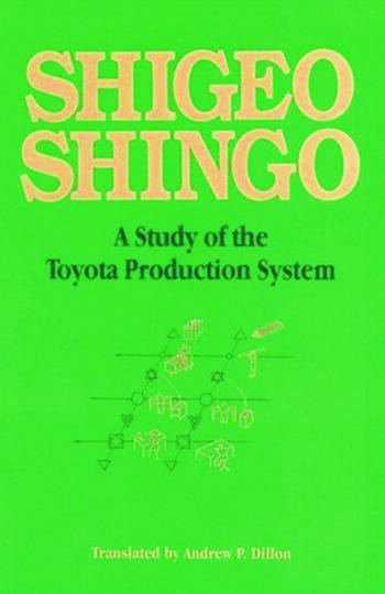 A Study of the Toyota Production System From an Industrial Engineering Viewpoint book cover