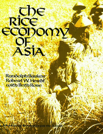 The Rice Economy of Asia book cover