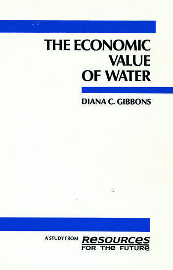 The Economic Value of Water book cover