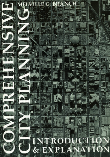 Comprehensive City Planning Introduction & Explanation book cover
