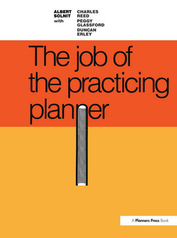 Job of the Practicing Planner book cover