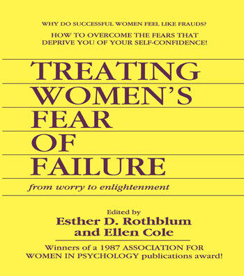 Treating Women's Fear of Failure From Worry to Enlightenment book cover