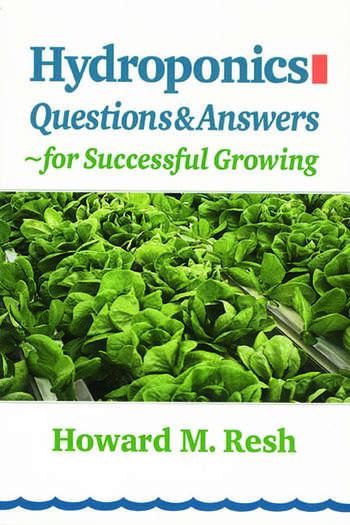 Hydroponics Questions & Answers for Successful Growing book cover