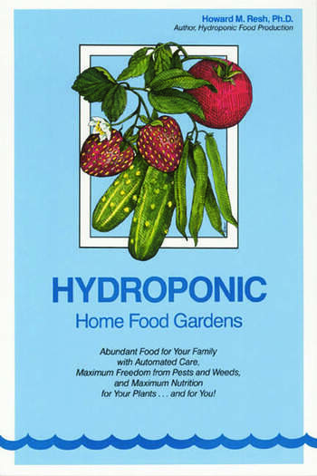 Hydroponic Home Food Gardens book cover