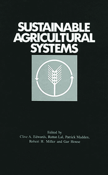 Sustainable Agricultural Systems book cover