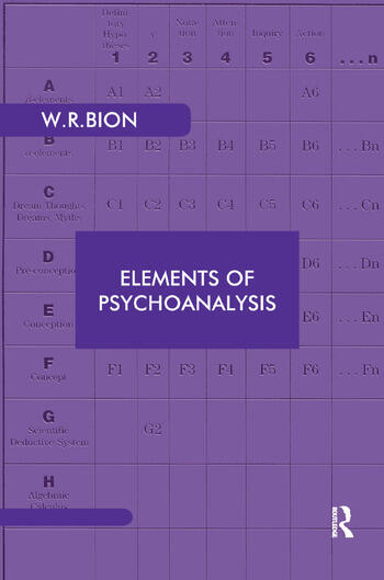 Elements of Psychoanalysis book cover