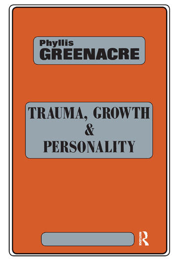 Trauma, Growth and Personality book cover