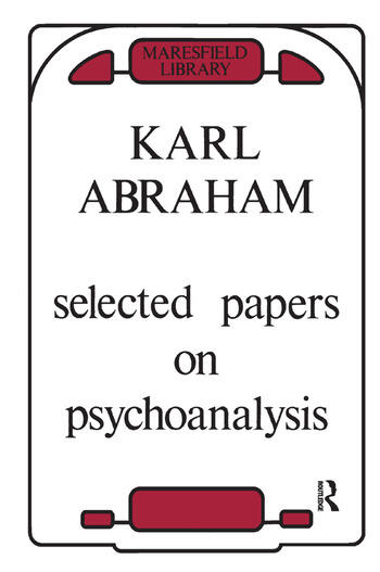 Selected Papers on Psychoanalysis book cover