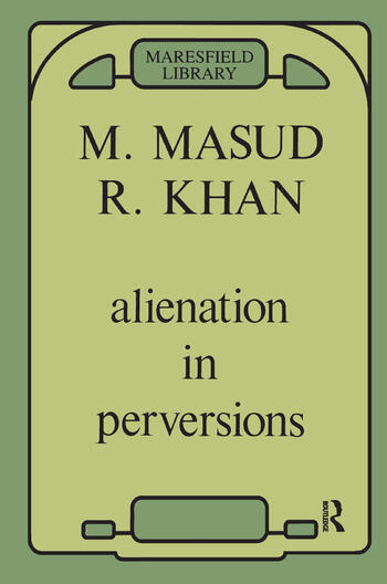 Alienation in Perversions book cover