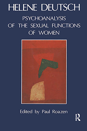 The Psychoanalysis of Sexual Functions of Women book cover
