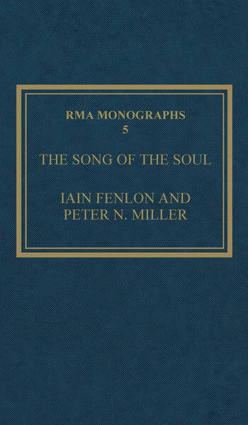 The Song of the Soul Understanding Poppea book cover