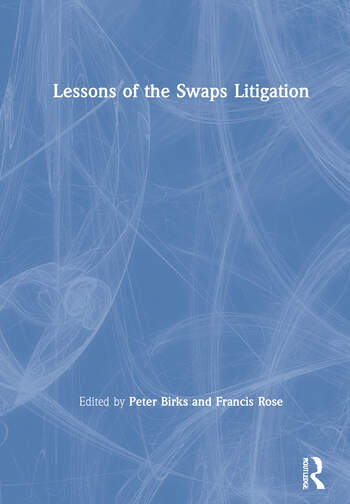 Lessons of the Swaps Litigation book cover