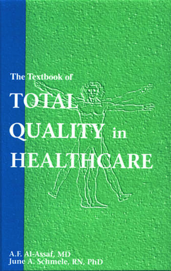 The Textbook of Total Quality in Healthcare book cover