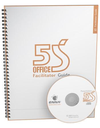 5S Office Version 1 Facilitator Guide book cover