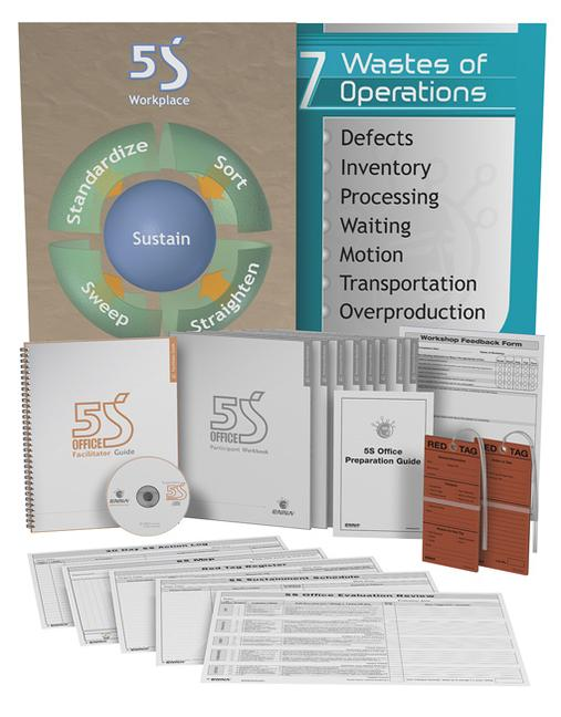 5S Office Solution Package book cover