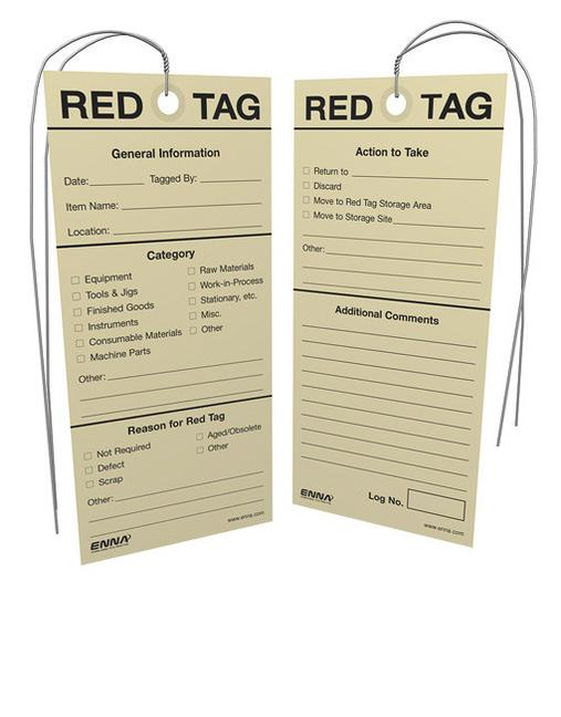 ISO 5S Tags book cover
