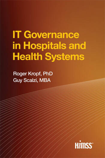 IT Governance in Hospitals and Health Systems book cover