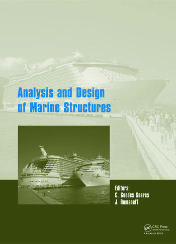 Analysis and Design of Marine Structures book cover