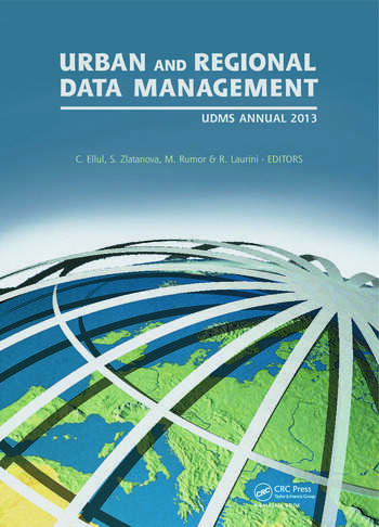 Urban and Regional Data Management UDMS Annual 2013 book cover