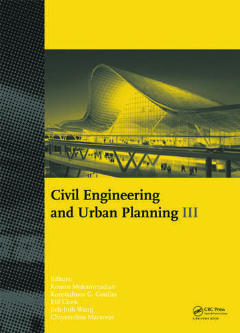 Civil Engineering and Urban Planning III book cover