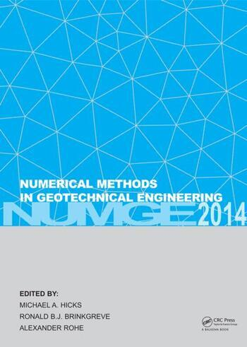 Numerical Methods in Geotechnical Engineering book cover