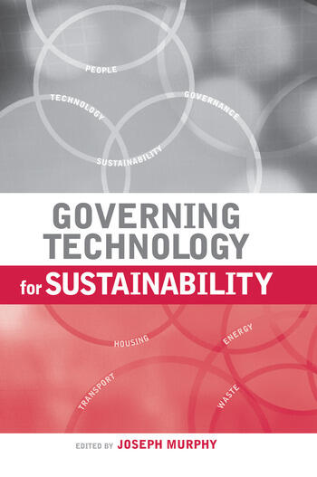 Governing Technology for Sustainability book cover