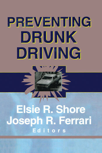 Preventing Drunk Driving book cover