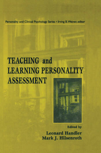 Teaching and Learning Personality Assessment book cover