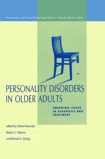 Personality Disorders in Older Adults Emerging Issues in Diagnosis and Treatment book cover