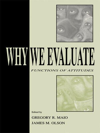 Why We Evaluate Functions of Attitudes book cover