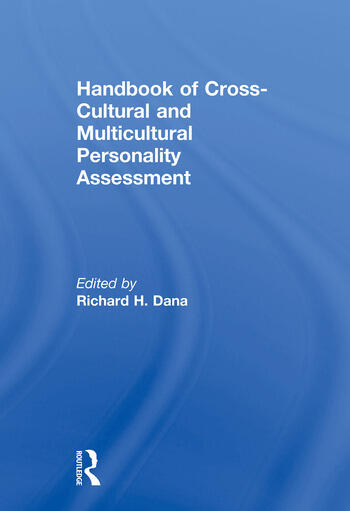 Handbook of Cross-Cultural and Multicultural Personality Assessment book cover