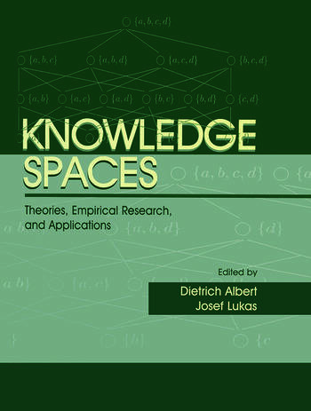 Knowledge Spaces Theories, Empirical Research, and Applications book cover