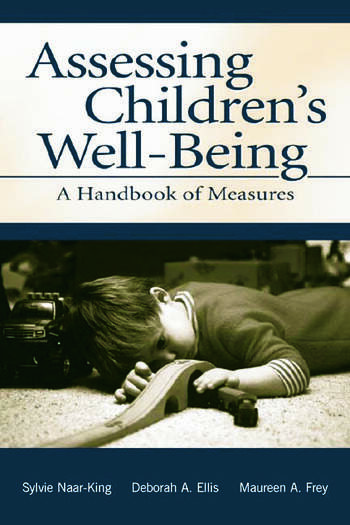 Assessing Children's Well-Being A Handbook of Measures book cover