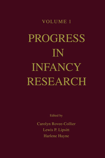 Progress in infancy Research Volume 1 book cover