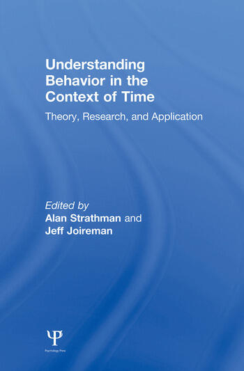 Understanding Behavior in the Context of Time Theory, Research, and Application book cover
