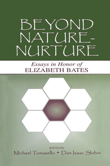 Beyond Nature-Nurture Essays in Honor of Elizabeth Bates book cover