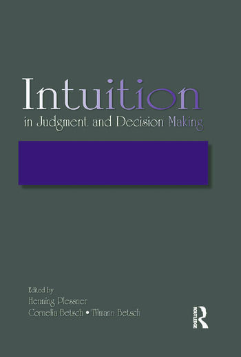 Intuition in Judgment and Decision Making book cover