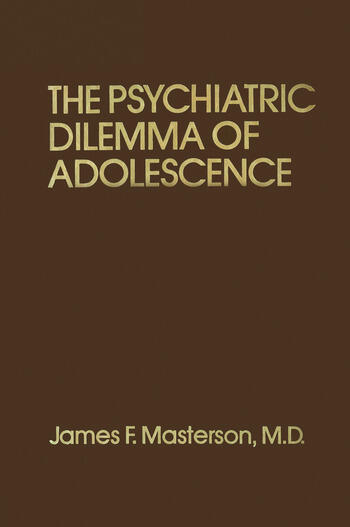 Psychiatric Dilemma Of Adolescence book cover
