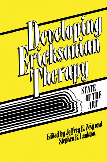 Developing Ericksonian Therapy A State Of The Art book cover