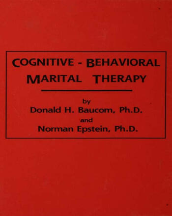 Cognitive-Behavioral Marital Therapy book cover