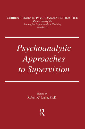 Psychoanalytic Approaches To Supervision book cover