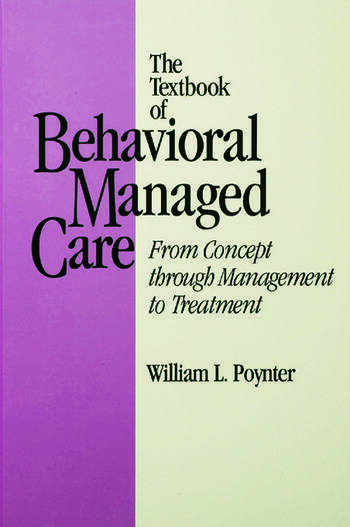 Textbook Of Behavioural Managed Care book cover